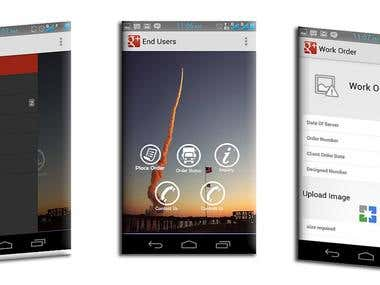 O.M.M.A (order management mobile app)