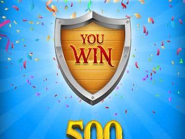 Congratulation window!