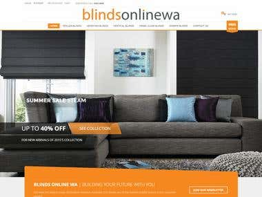 Blinds Online WA - WordPress