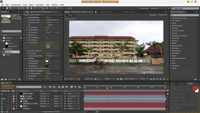 Adobe After Effect - Design | Freelancer