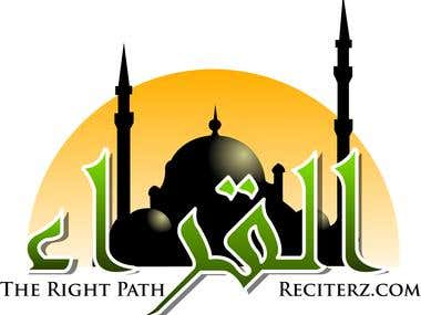 Islamic Logo Design with Arabic Expression