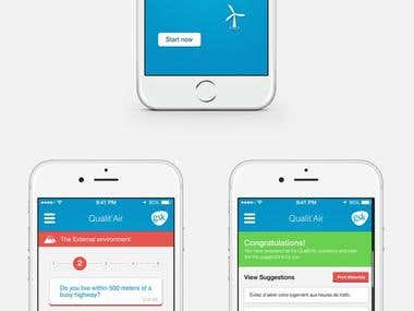 Qualit'Air Mobile App