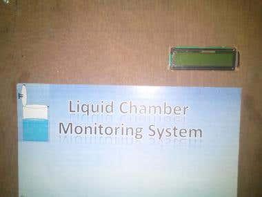 Liquid Chamber Monitoring System