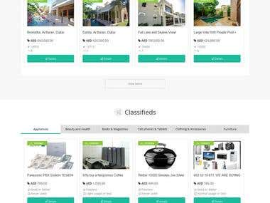 Classifieds Website - Listings on Website 100,000 +
