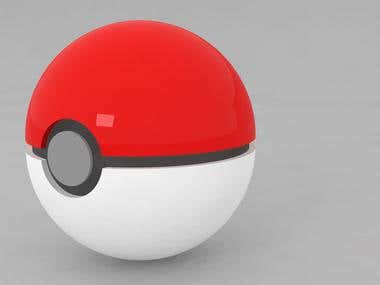 Pokeball Model for Game