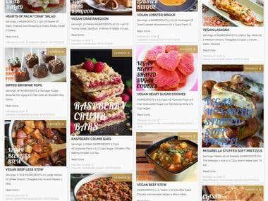 Website Design for LifeStyle Blog