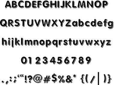 Font - Solid 3D