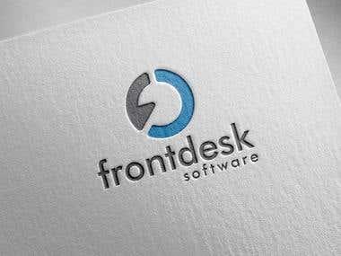 Logo Design for FrontDesk