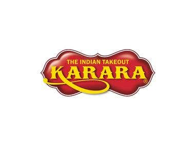 Logo Design for KARARA The Indian Takeout