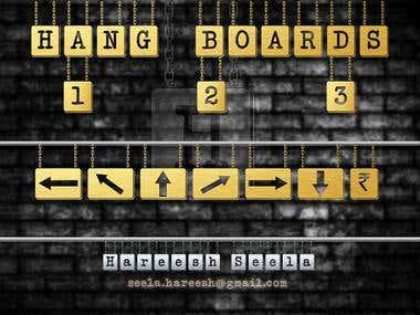 Font - Hang Board 123