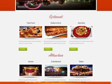 website for amusement park