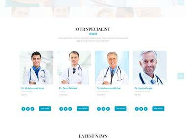 Care website for doctor's and patient for online appointment