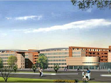 Design of a very big school
