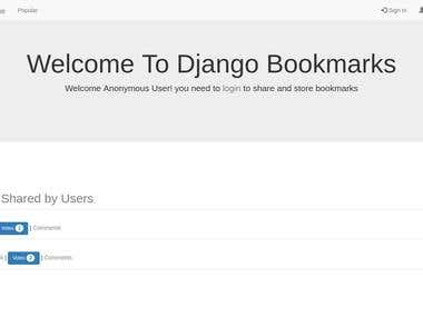 Django Bookmark