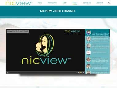 NicView Design & Development Webpage