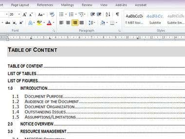 Documentation - Training Materials