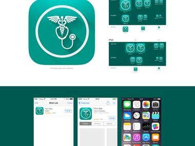 iOS icon Design for an App