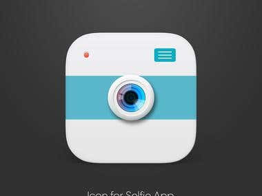 Design Icon for Selfie App