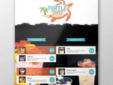 creat a menu