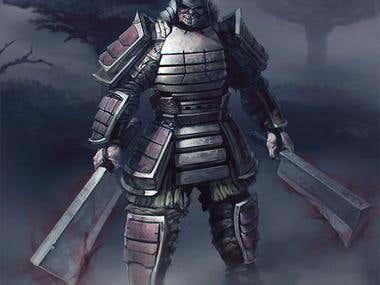Cursed samurai