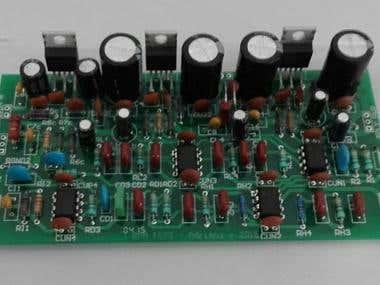 45W one channel HiFi Amplifier