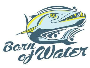 Born of Water Logo