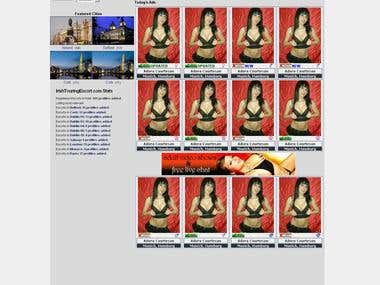 Escort Directory website in Irenland