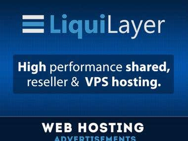 Liqui layer Banner Design