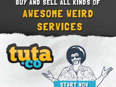Tuta.co Banner Design