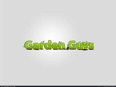 Garden Guys Logo Design