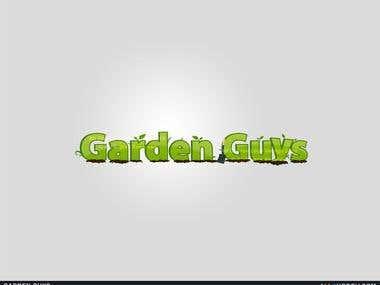 Garden Guys Logo Design
