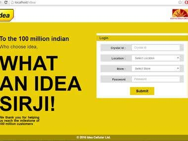 IDEA Online Store Management System