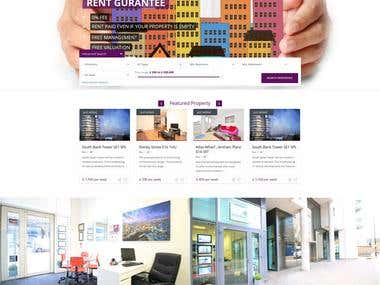 Website development for  BlackstonesResidential