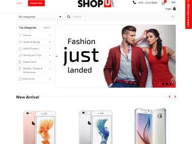 ShopU: e-commerse portal in Kuwait