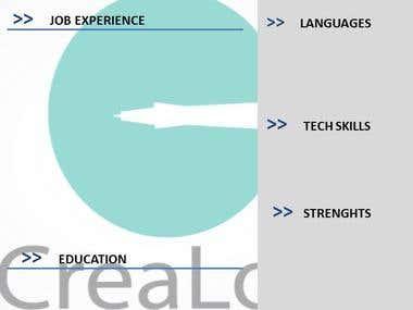 CV Professional Creation