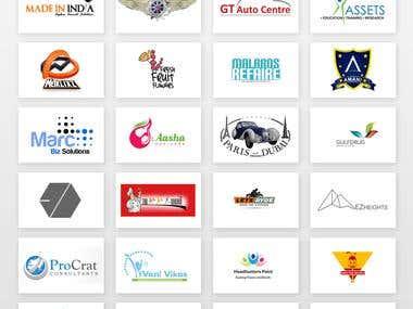 Logo Design & Client's Portfolio
