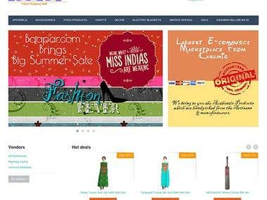 Baapar.com Ecommerce Website