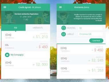 Aplikacja bankowa