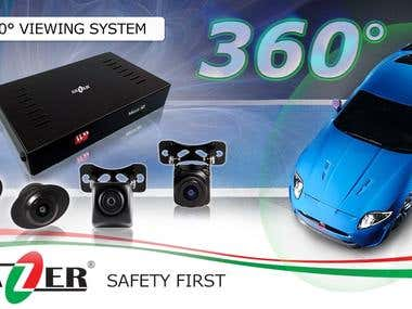 Products Overview - Surround view system Gazer