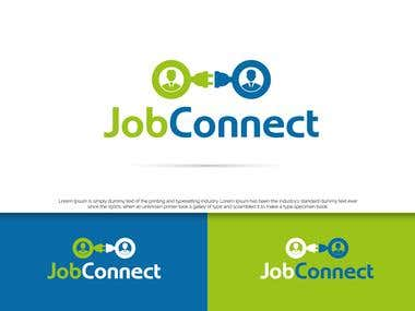 Creative logo for a job searching website