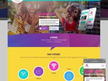 Cypher - Language Translation Website & Apps