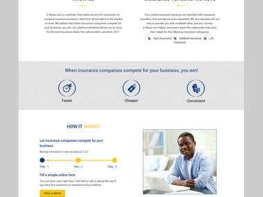E-Bima - Online Insurance Website