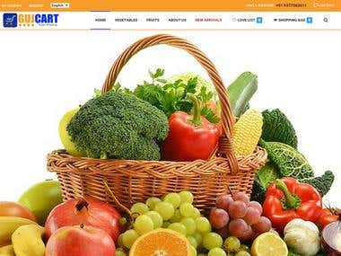 Online Shopping Fruits & Vegetables Store