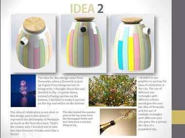 Creative tea pot