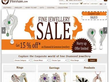Online Shopping Jewellery Store