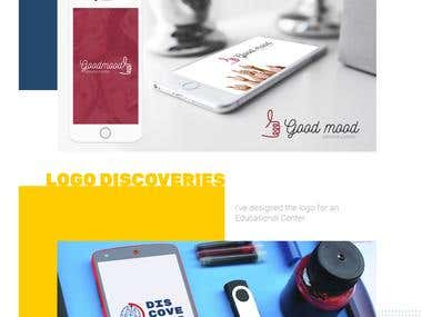 Logos,  business cards , business identity.