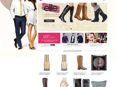 E-commerce (prestashop)