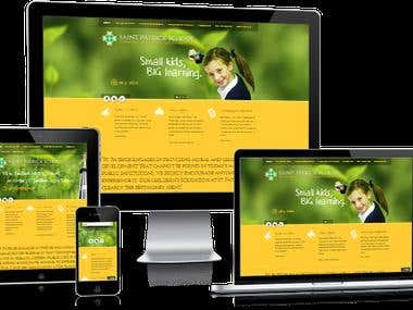 Web Design, develop, WordPress, CSS & HTML