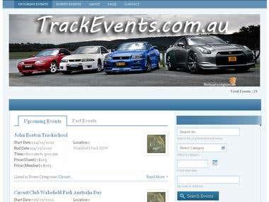 trackevents.com.au