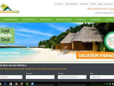Vacation Rental Script By ZendCMS